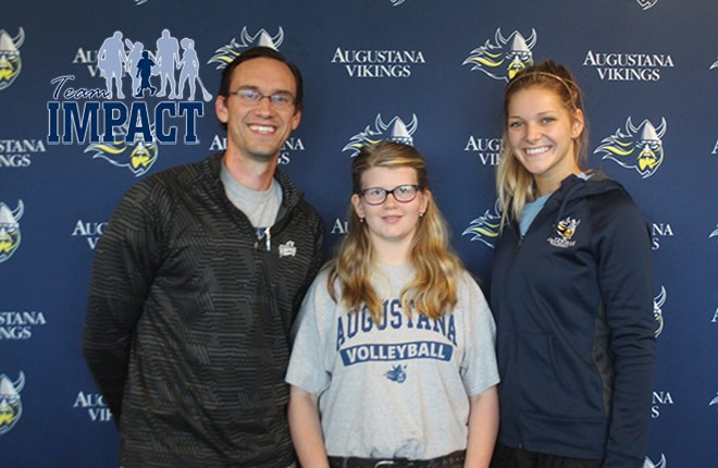Augustana Volleyball Adds Lexi Valentine Through Team IMPACT